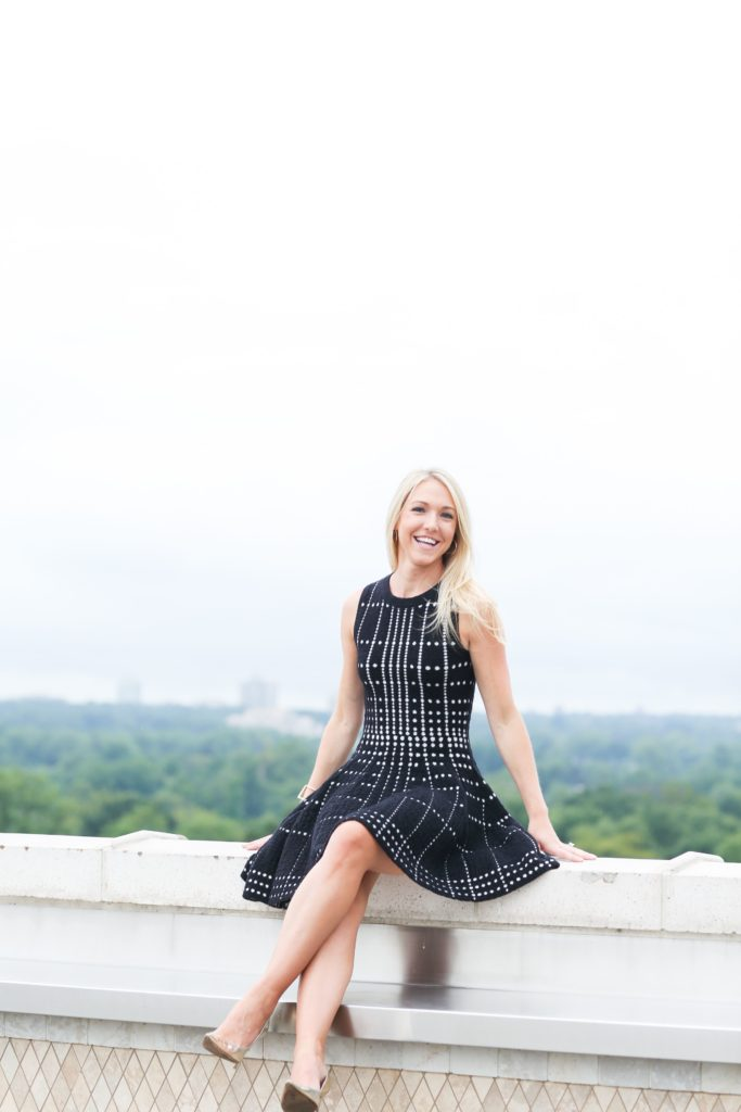 Polka Dot Party Dress Nicole Alexander