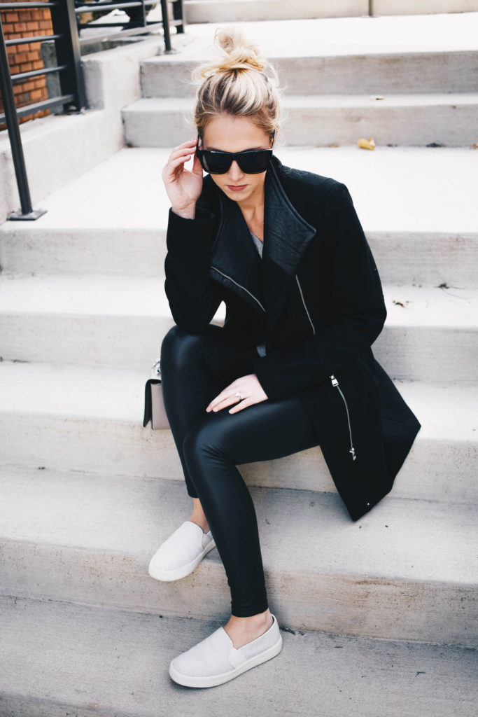 Leggings + Coat